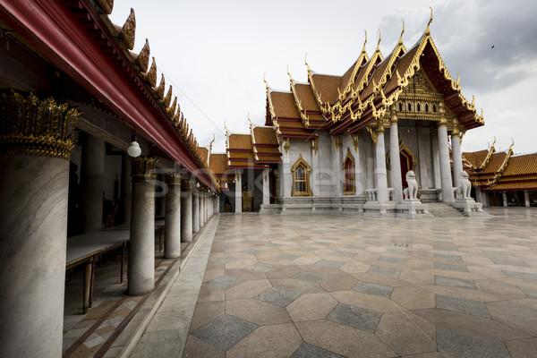 バンコク タイ 空 建物 教会 石 ストックフォト © Mariusz_Prusaczyk