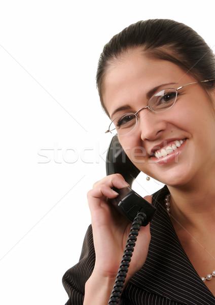 企業 ワーカー 小さな 女性 従業員 話し ストックフォト © markhayes
