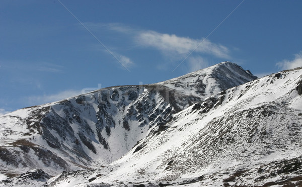 高い 国 雪 ピーク コロラド州 早い ストックフォト © markhayes
