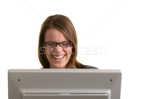 Online Joke Stock photo © markhayes