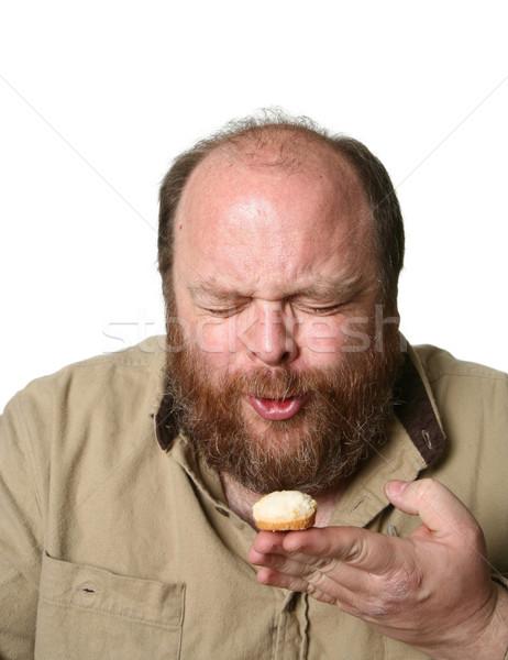 Mini muffin diéta muffinok kegyetlenség háttér Stock fotó © markhayes