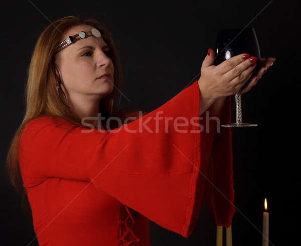 Pagan woman Stock photo © markhayes