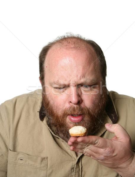 考え マフィン 朝食 背景 悲しい 面白い ストックフォト © markhayes