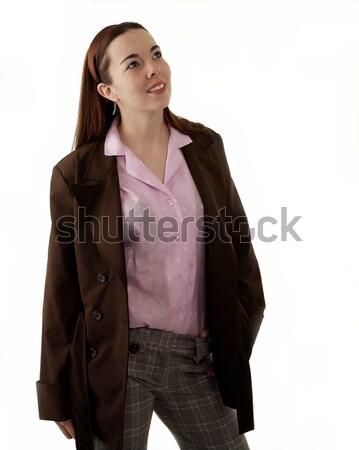 カジュアル ファッション 若い女性 着用 服 女性 ストックフォト © markhayes