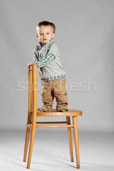 Young boy toddler Stock photo © maros_b