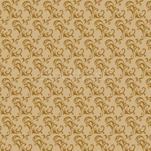 Retro tapéta érdekes öreg stílus barna Stock fotó © maros_b
