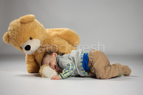 Young boy toddler Stock photo © maros_b