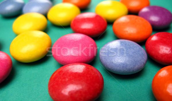 Renk yeşil mavi şeker sarı Stok fotoğraf © martin33