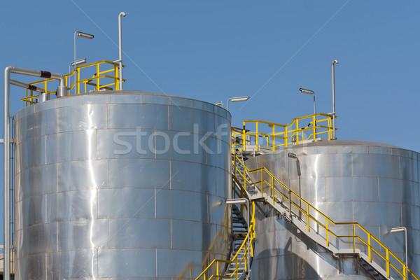 storage tanks Stock photo © martin33