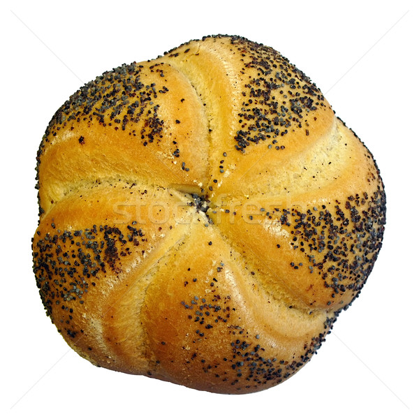 Rouler alimentaire pain fraîches pavot Photo stock © martin33