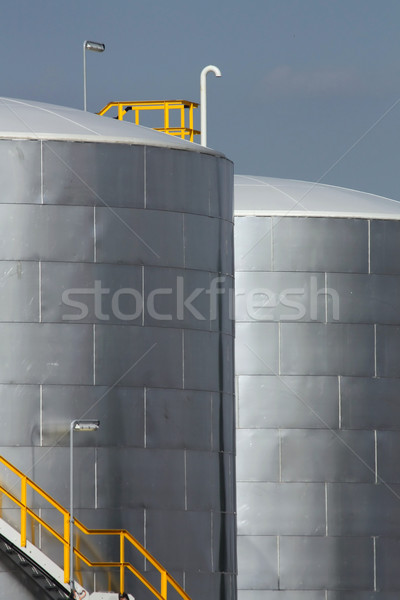 industrial tanks Stock photo © martin33