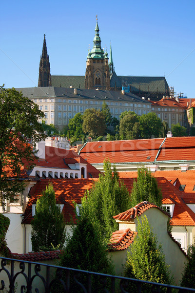 Prague Castle Stock photo © martin33
