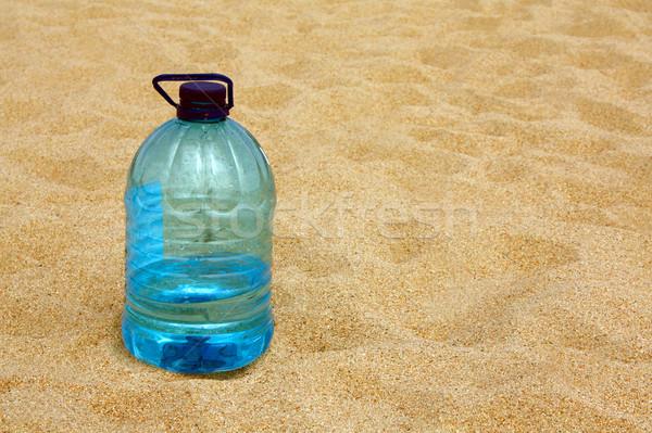 Water woestijn zomer Blauw cool hot Stockfoto © martin33