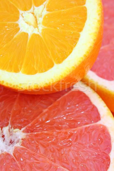 Citrus gyümölcsök piros trópusi citromsárga friss Stock fotó © martin33