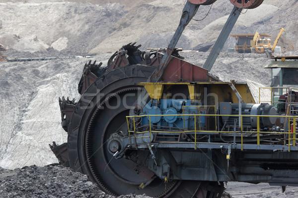 coal mining Stock photo © martin33