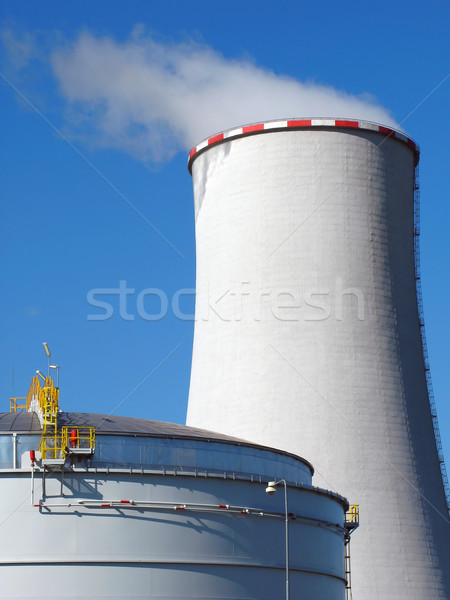 cooling tower Stock photo © martin33