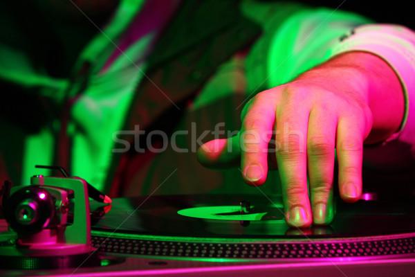 deejay Stock photo © martin33