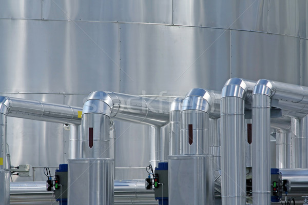 industrial piping Stock photo © martin33