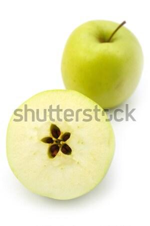 Appel achtergrond groene vruchten witte schaduw Stockfoto © martin33