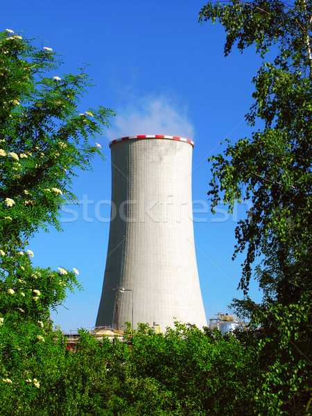 industry and nature Stock photo © martin33
