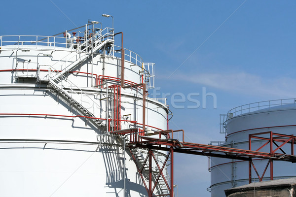 industrial reservoirs Stock photo © martin33