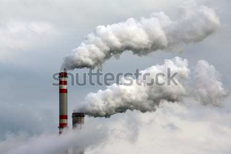 industrial landscape Stock photo © martin33