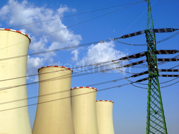 Stock photo: energy production