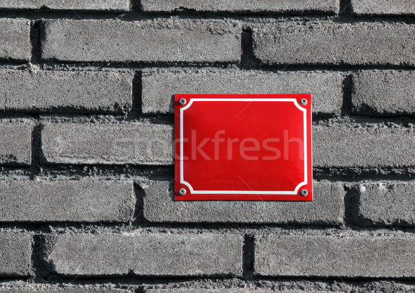 house number board Stock photo © martin33