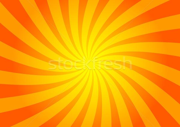 Napos textúra háttér narancs piros forró Stock fotó © martin33