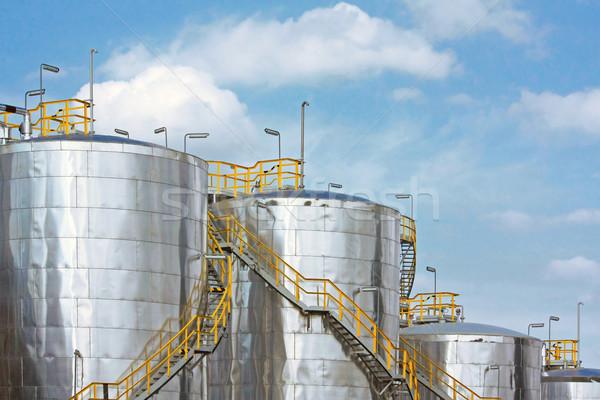 metallic gas tanks Stock photo © martin33