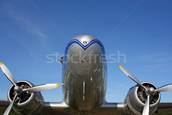 classic aircraft Stock photo © martin33