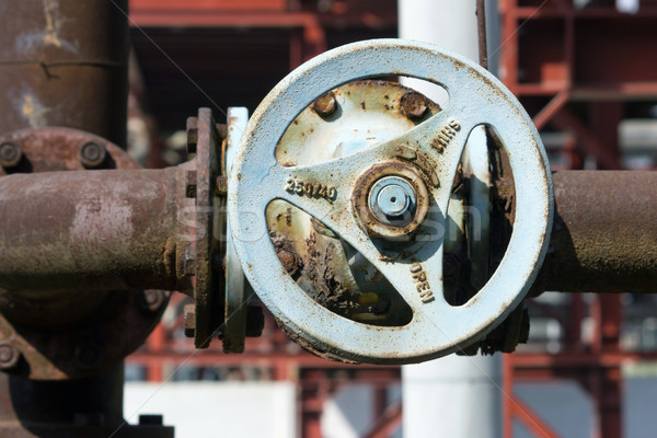 industrial valve Stock photo © martin33