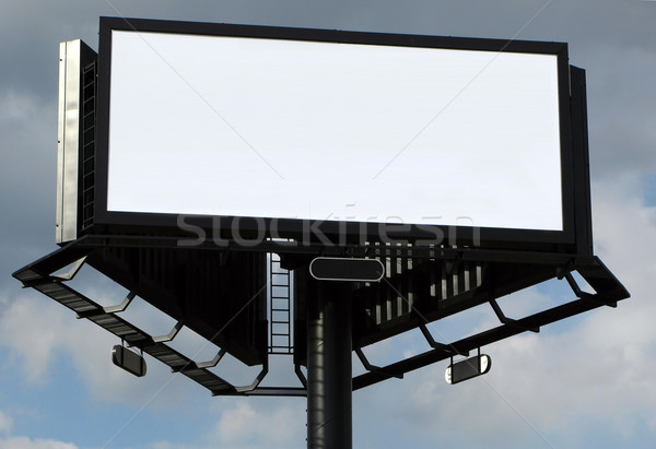 blank billboard Stock photo © martin33