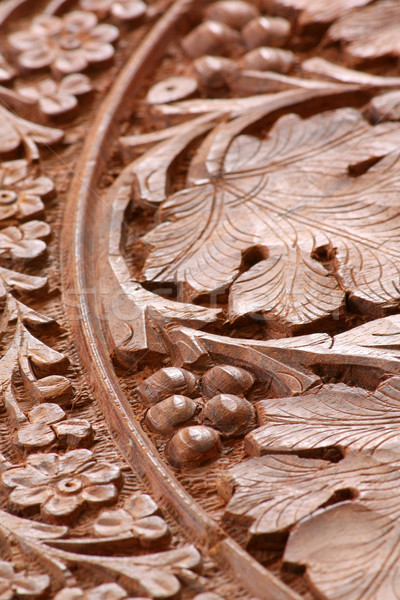 wood carving Stock photo © martin33