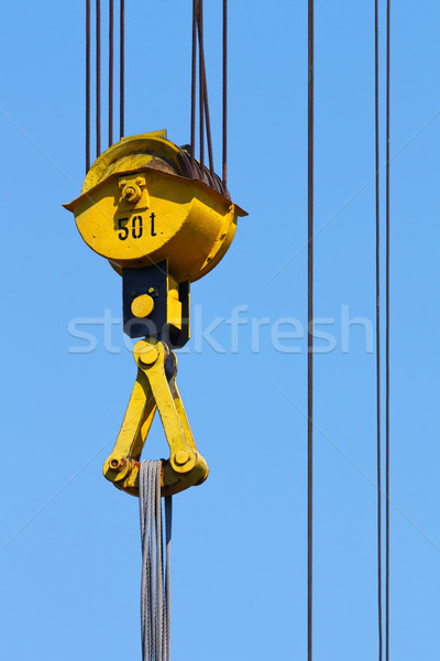crane pulley Stock photo © martin33