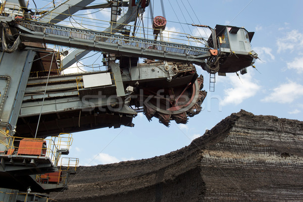 coal mining Stock photo © martin33