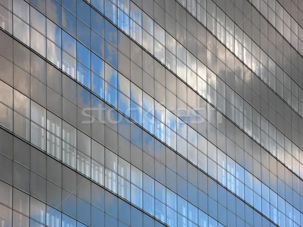 現代 空 反射 雲 建物 ストックフォト © martin33