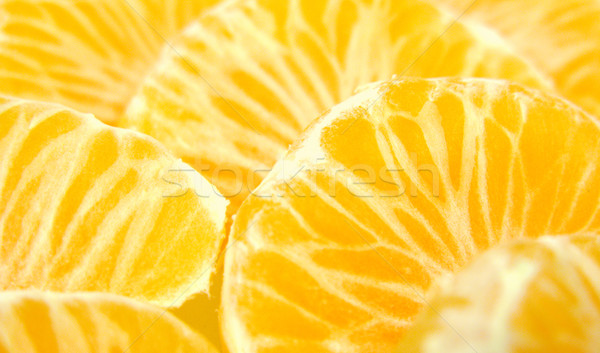 Tranches fruits fond couleur jaune Photo stock © martin33