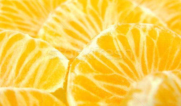 柑橘類 スライス フルーツ 背景 色 黄色 ストックフォト © martin33