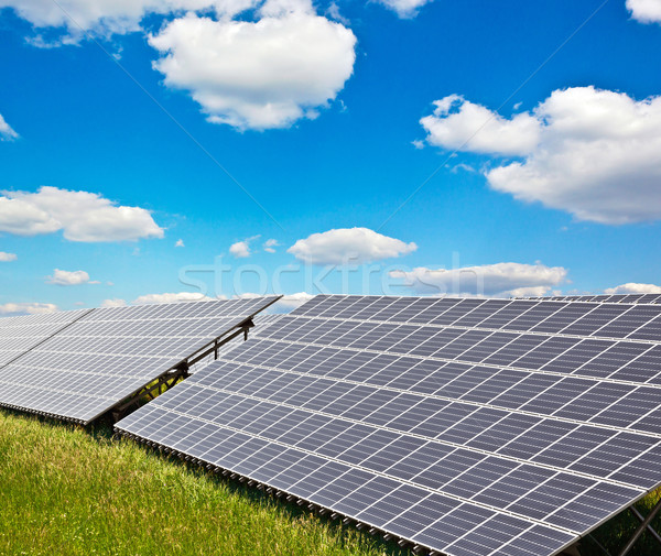 solar power plant Stock photo © martin33