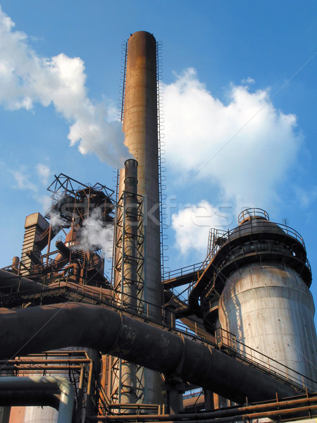 steel plant Stock photo © martin33