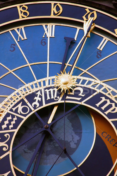 Astronomical clocks, Prague Stock photo © martin33