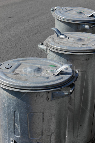 garbage cans Stock photo © martin33