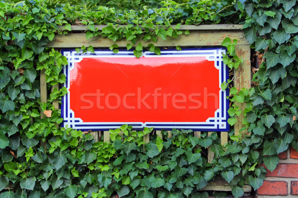 street name signpost Stock photo © martin33