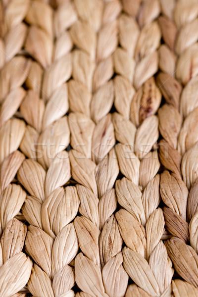 straw mat Stock photo © marylooo