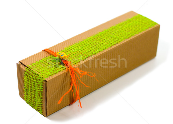 cardboard gift box Stock photo © marylooo