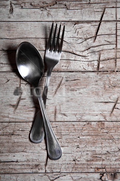 vintage cutlery  Stock photo © marylooo