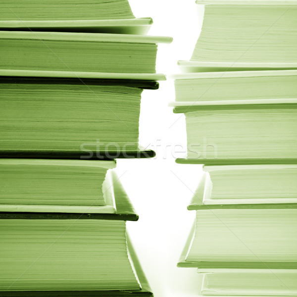 Livres monochrome image papier Photo stock © marylooo