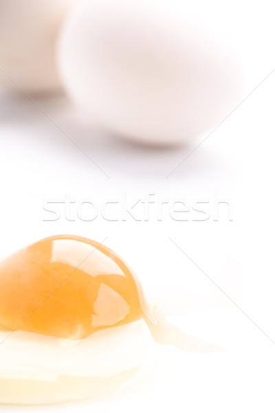 chicken eggs Stock photo © marylooo