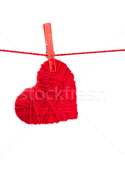 single thread heart Stock photo © marylooo